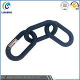 Corrente de ligação de aço revestida plástica da alta qualidade