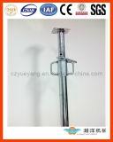 Sistema de suporte de andaime ajustável ajustável de aço Suporte com fio interno