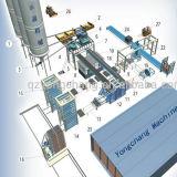 La fabrication de briques de la machinerie, les blocs de béton la machine