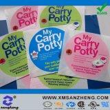 주문 광택 있는 고열 저항하는 다채로운 자동 접착 비닐 포장 스티커