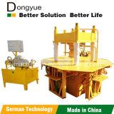 La machine à paver concrète chaude bloque le groupe de machines des moulages Dy150t Dongyue