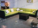 Напольные комплекты софы, мебель ротанга патио, комплекты софы сада (SF-332)