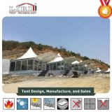 Luxary spezielles Entwurfs-Pagode-Festzelt-hohe Spitzen-Hotel-Zelt