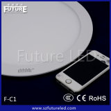 6W Future Branded Round LED Panel Light mit CER RoHS Approval
