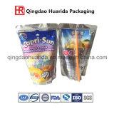 Sacs de café d'usine de sachets en plastique avec la tirette