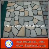 Piedra de pavimentación de la piedra del bordillo de la piedra del cubo del granito de China para el camino
