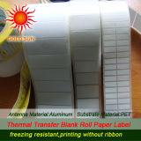 Haut de la qualité d'étiquette de code à barres papier thermique (TPL-014)