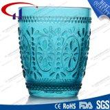 240ml graviertes grünes Großhandelsglassaft-Cup (CHM8185)