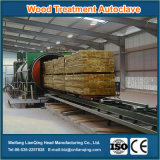 保存力がある木製の処置のための木製の処置のオートクレーブ