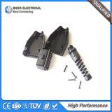16pin conector OBD II Adaptador de enchufe para el diagnóstico de coche