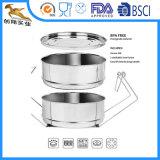 Insert en acier inoxydable 304 cuiseur vapeur autocuiseur (CX-SA01)
