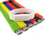 Цветастый привод ключа диска USB полосы запястья руки (PZB004)