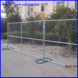 Cadeia Link Fence Panel Fenda móvel temporária com Metal Feet América Market