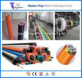 Chaîne de production micro de pipe de faisceau de silicones de PE de conduit/fabrication de la ligne de machine/extrudeuse