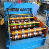 機械を形作る油圧ひだが付く屋根によって曲げられるロール