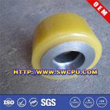 Doppio rullo di guida di nylon della rotella (SWCPU-P-P002)