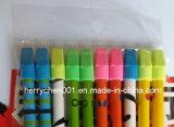 Colorido lápiz de impresión con borrador de dibujos animados, Sky-015