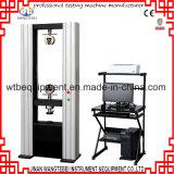 Machine de test universelle de résistance à la traction d'acier inoxydable
