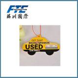 Bevanda rinfrescante di aria di carta per l'automobile con il purificatore dell'aria del profumo