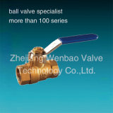 3 Inch Brass Ball Valve mit Lock
