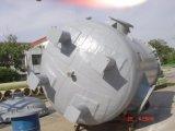 FRP, GRP 의 섬유 유리 수직 편평한 바닥 탱크 배, 콘테이너
