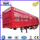 Rimorchi del camion del palo del bestiame dell'Tri-Asse & dell'elemento portante delle merci dell'azienda agricola