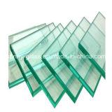 Vidro flutuante transparente de 3 a 19 mm para vidro de construção ou de vidro