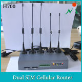 Transmission Weather Data를 위한 Battery를 가진 3G Gateway Industrial Router