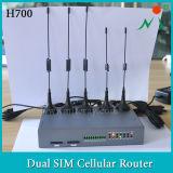 3G de Industriële Router van de gateway met Batterij voor de Gegevens van het Weer van de Transmissie