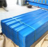 SGCC、Dx51d、JISのASTM/Steelの物質的な波形の鋼板の鋼鉄屋根瓦のPE PVDFは塗った