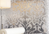 Goldmosaik, Muster-Mosaik-Kunst-Mosaik-Wand-Fliese (HMP648)
