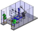 Système simple de robot de plaque tournante avec les rideaux légers