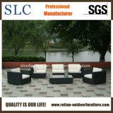 Sofá al aire libre de mimbre del sofá al aire libre de la rota de los muebles del patio (SC-B6018-F)