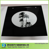 4mm 5mm 6mm Tempered Kitchen Glass met Serigrafie Printing