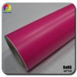 Tsautop 1.52*30m/20m Auto-Vinylverpackungs-Auto-Vinylmattverpackung der neuen Art-2016 rosafarbene