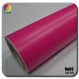 Tsautop 1.52 * 30m / 20m 2016 Novo estilo Matte Pink Car Vinyl Wrap Car Vinyl Wrap