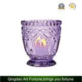 Изображение большего размера держатель стекла с формулировкой для Tealight и вотиве свечи