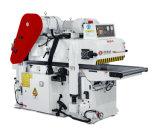 610 mm de ancho de trabajo de controlador de frecuencia de cuchilla en espiral doble o dos caras lijadoras máquina de carpintería (HJD MB2061BL)