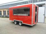 Promotion de chariots de nourriture de crême de bâton et glacée