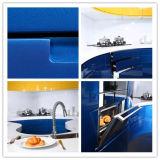 2015 Ханчжоу Welbom новейших светло-голубой лак кухонные шкафы