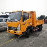 Camión volquete de la luz de 2 EUR Sinotruk amarillas volquete 4X2