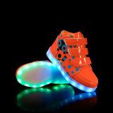 Подарок СИД Новый Год освещает вверх ботинки для малышей