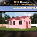 Maison modulaire prête à l'emploi antirouille avec de l'acier galvanisé à chaud