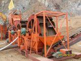 세척 장비 모래 세탁기 모래 청소 기계장치 100 톤 모래