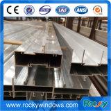 Perfil de extrusión de aluminio para la construcción e industria