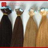 Выдвижение 100% ленты волос горячих человеческих волос Remy сбывания микро-