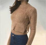 Las señoras ponen en cortocircuito el suéter viscoso de Mukhyar del moer del suéter que hace punto