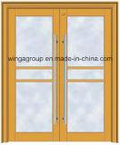 Progetto che costruisce il portello di vetro dell'acciaio elettrico dell'entrata di buona qualità (W-GD-09)