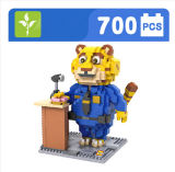 Plastique Zootopic Benjamin Clawhauser Figure Blocks Toy