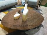 Muebles de madera Diseño de lujo Tabla de té clásica de madera maciza